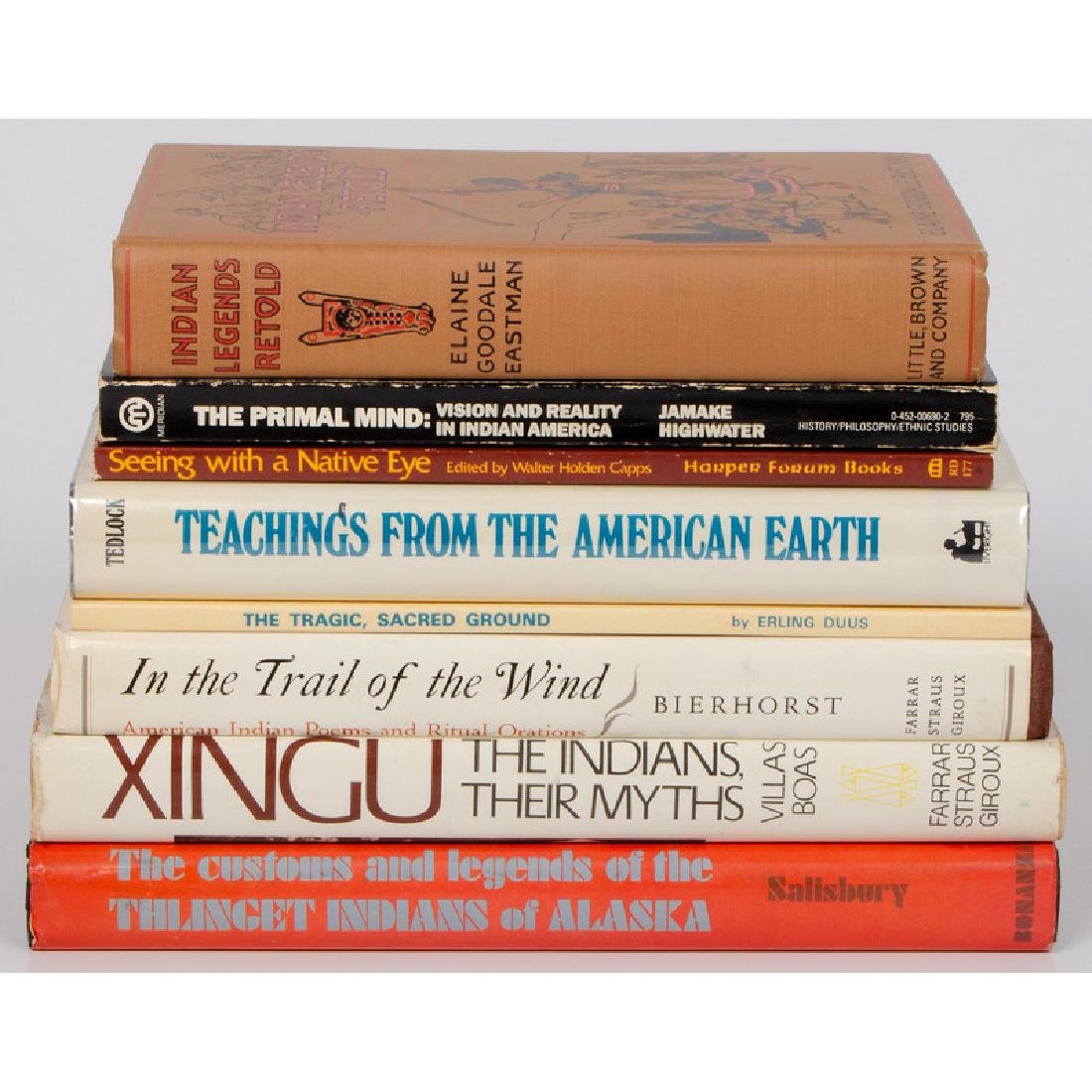 [Ethnography] Books on Indian Religion, Myths, and