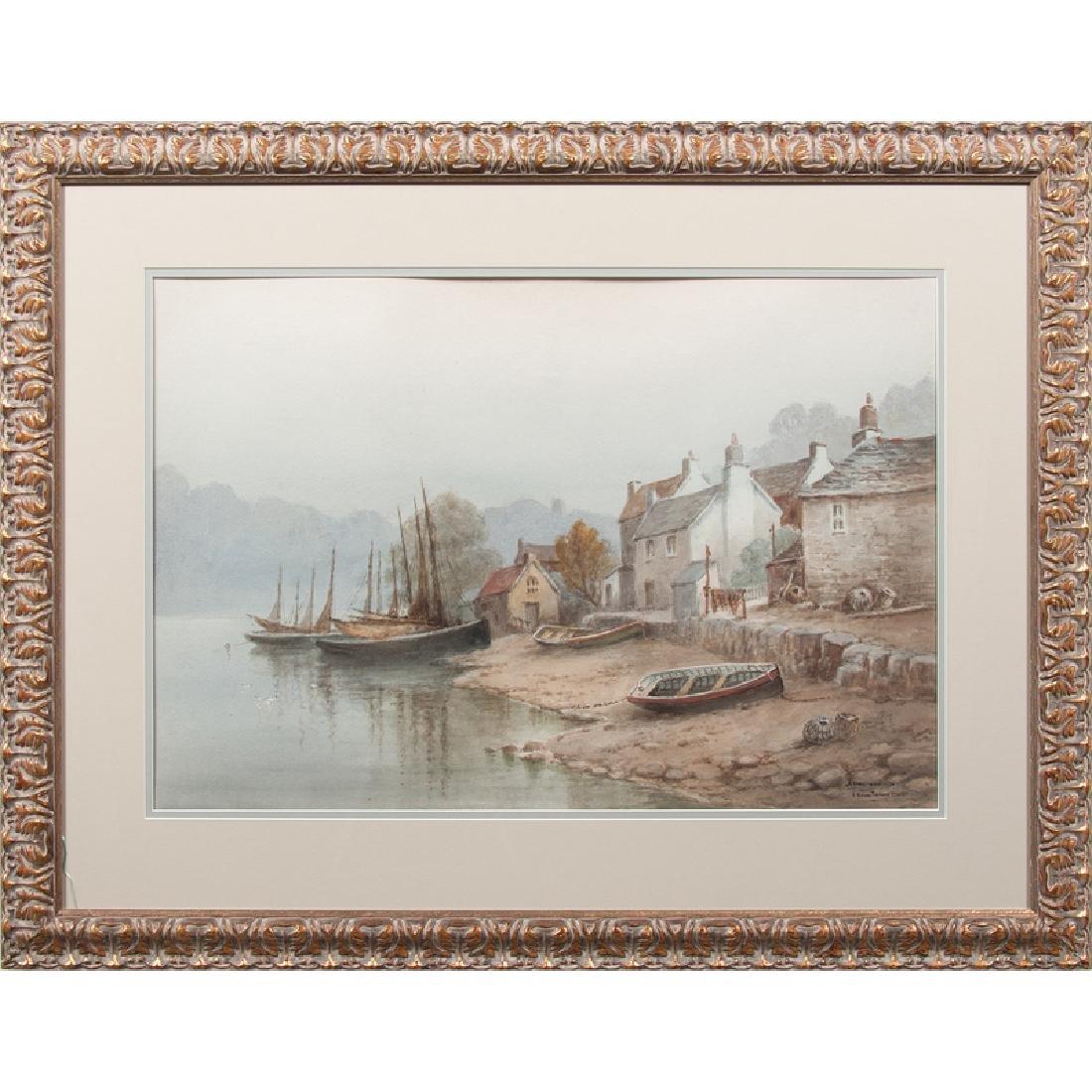 Charles E. Hannaford (British, 1863-1955) Watercolor - 2