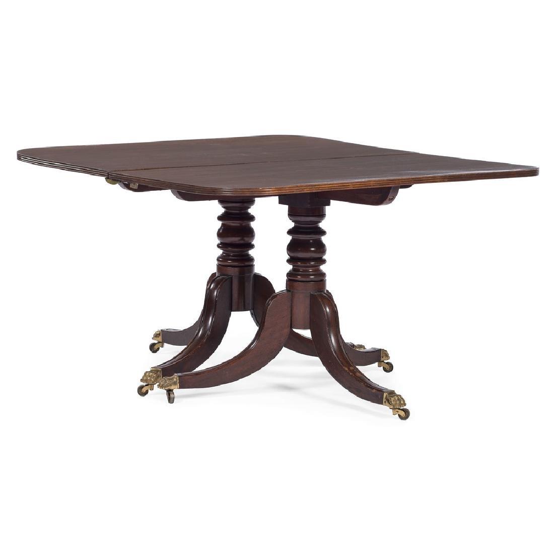 George III Pedestal Dining Table