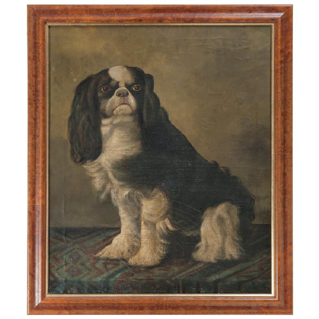 English School, 19th Century Painting of a Cavalier