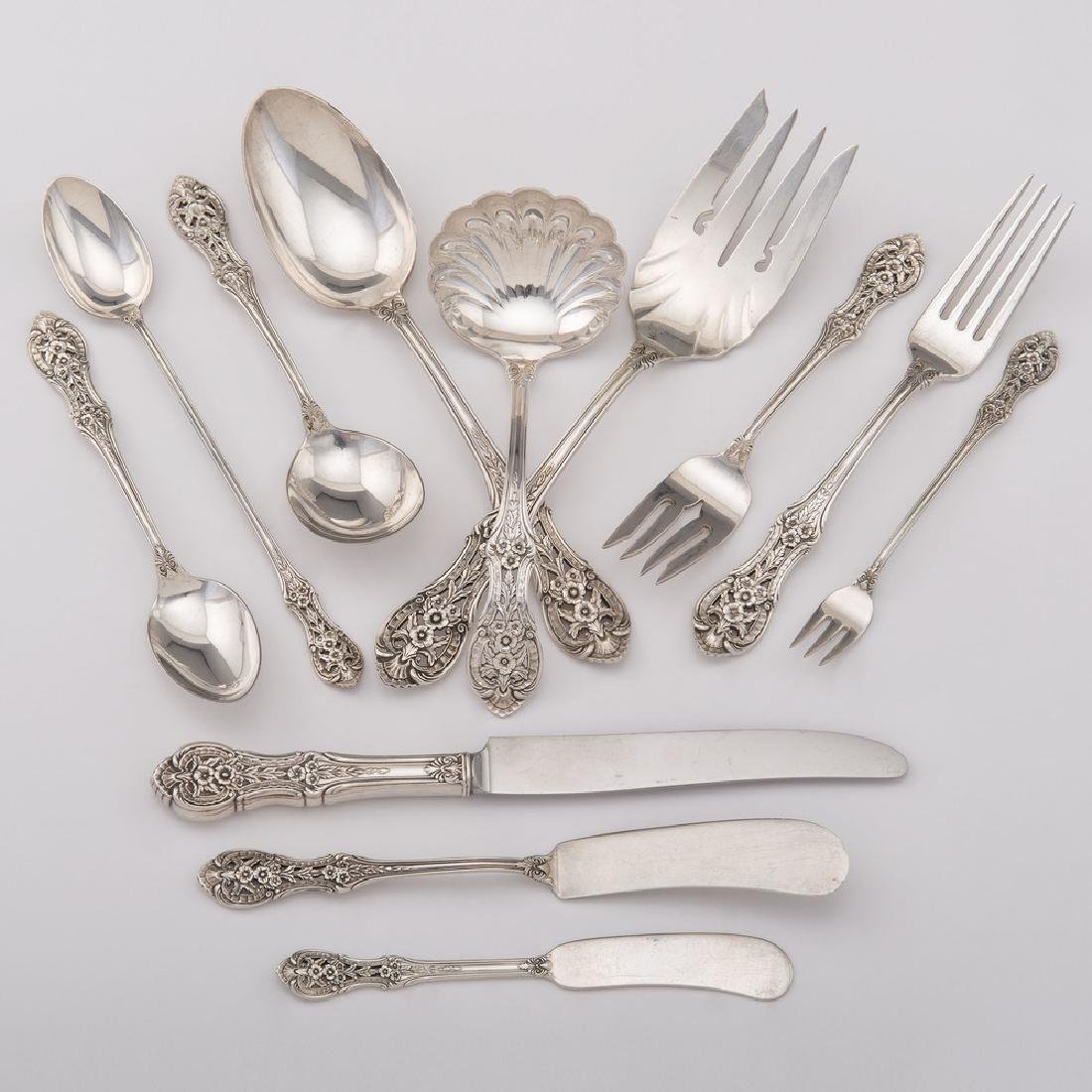 International Sterling Flatware, Springtime, Plus