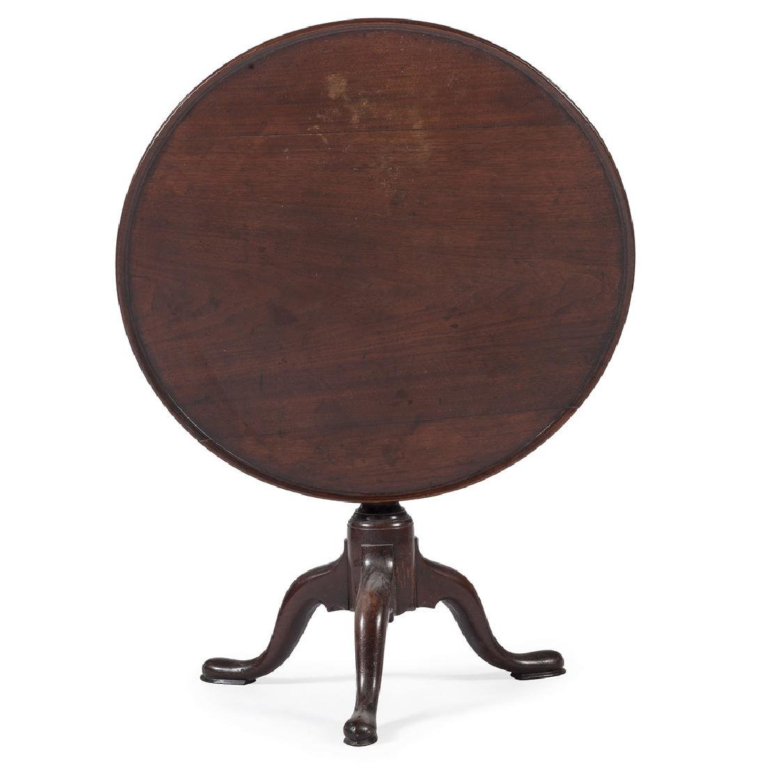 American Queen Anne Mahogany Breakfast Table