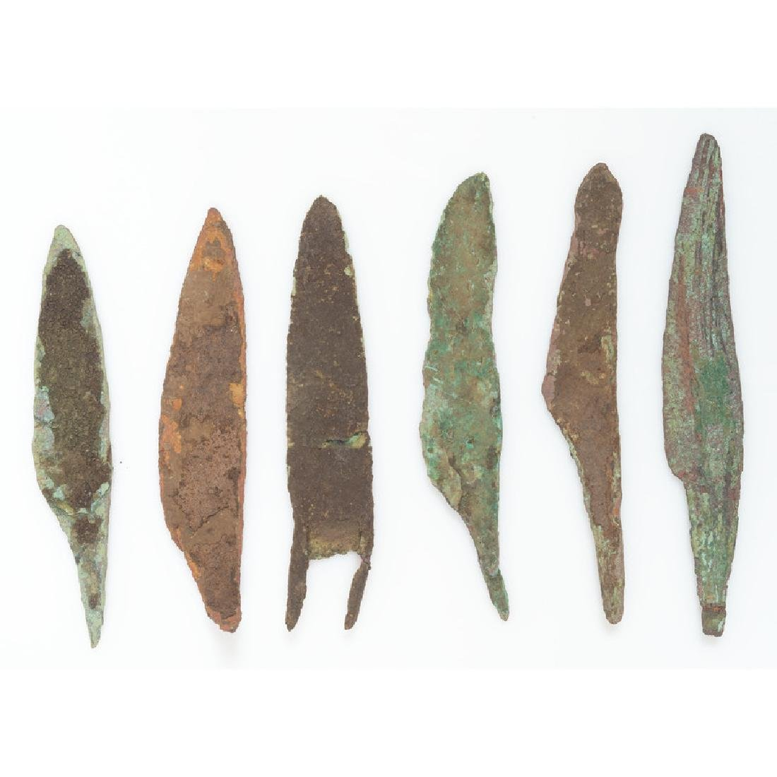 Old Copper Culture Knives,
