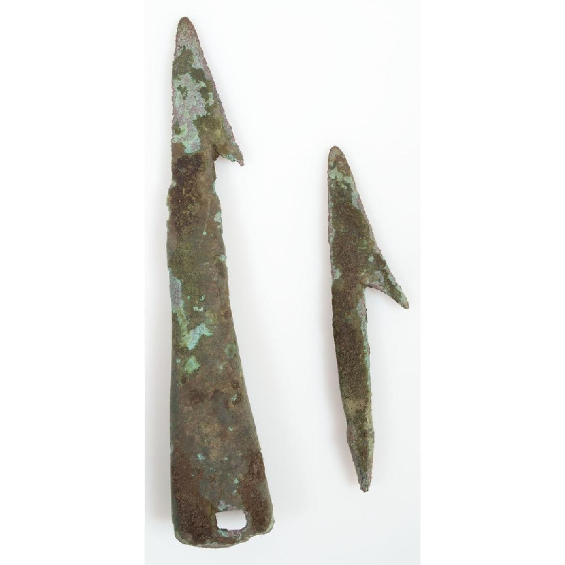 Old Copper Culture Harpoons,