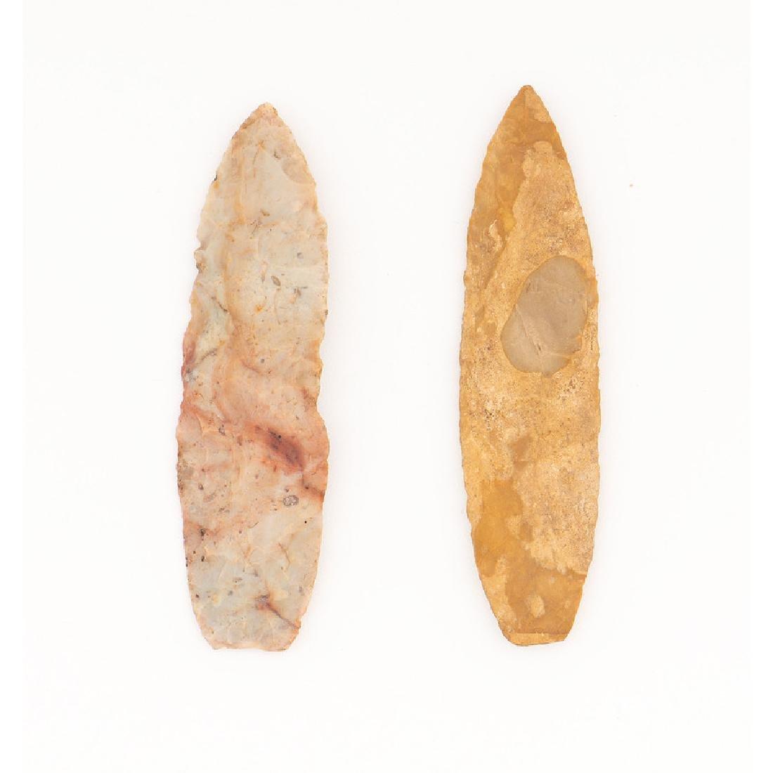 Two Paleo Lances,
