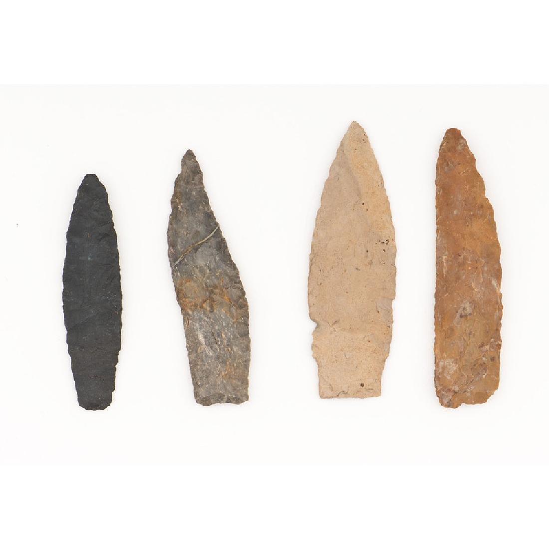 Four Paleo Lances,