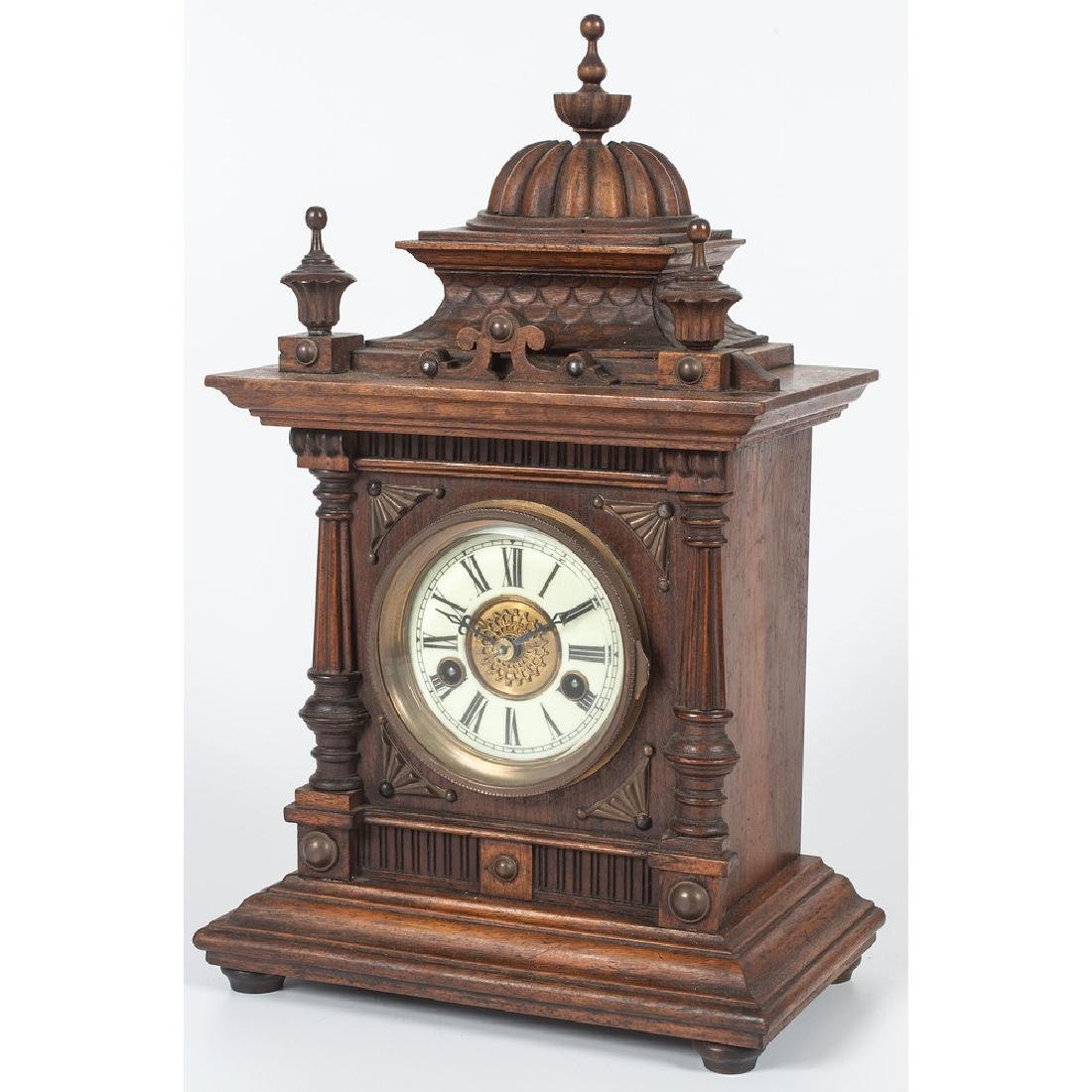 Greenwich Mantel Clock, by W.E. Watts