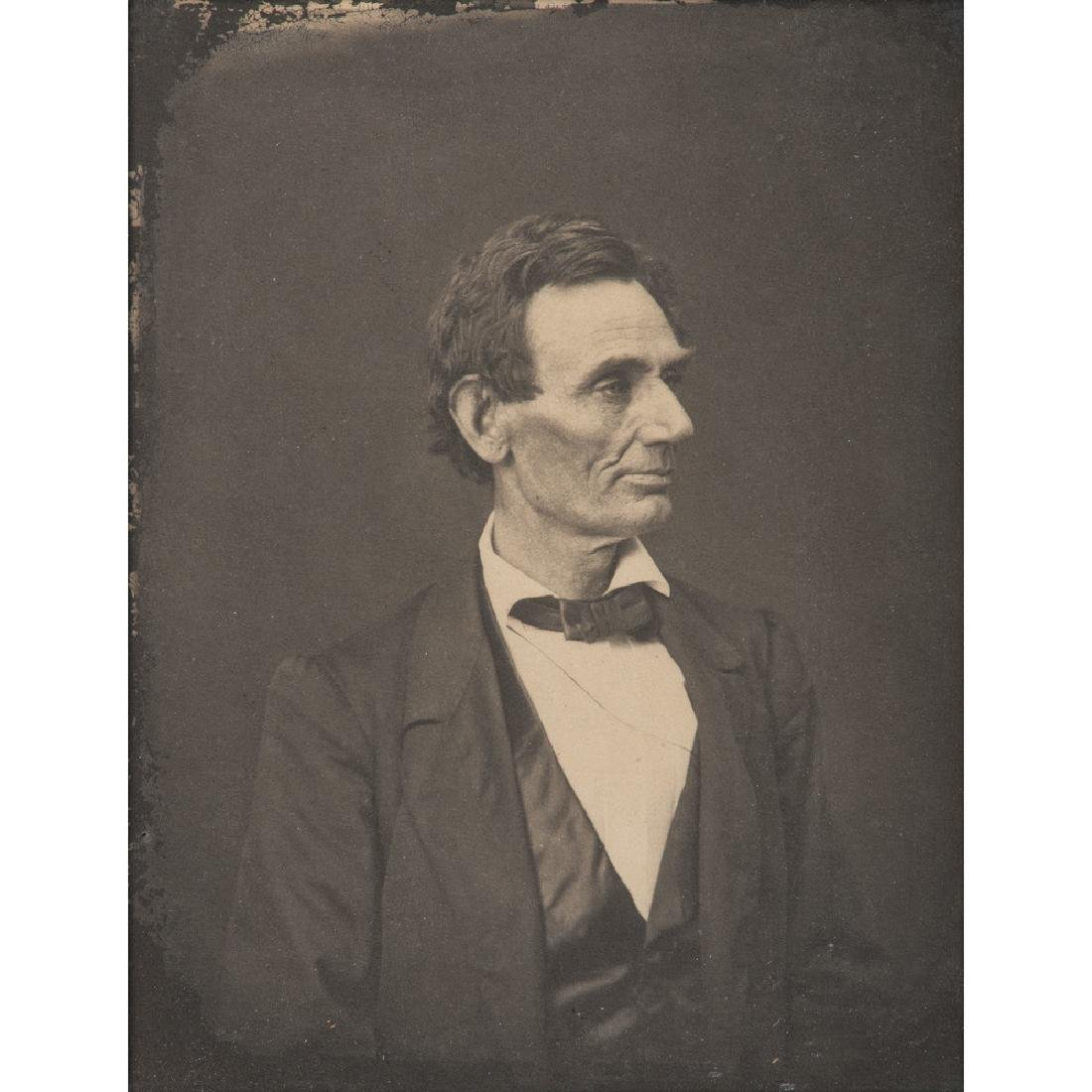 Abraham Lincoln, Fine Photograph Printed by Ayres from