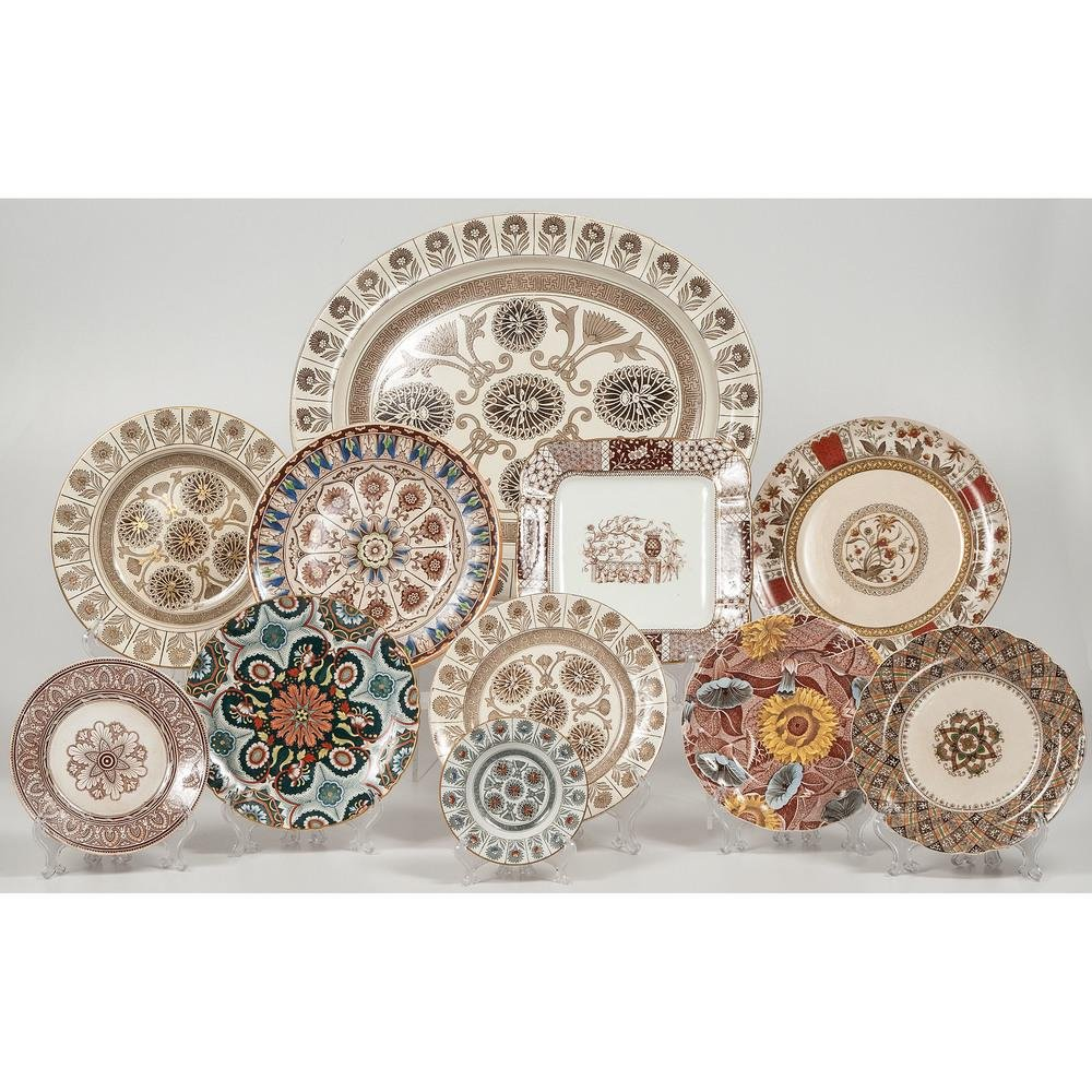 English Arts and Crafts Transferware, Including
