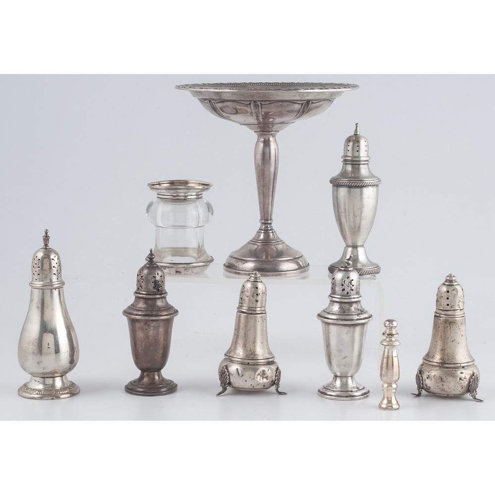 Silver Tablewares and Flatware