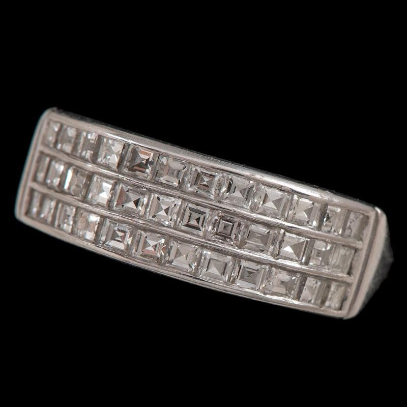 Cartier Platinum Diamond Ring