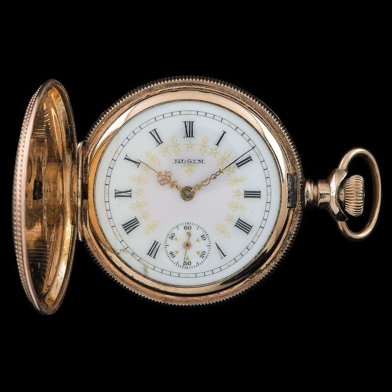 Elgin Gold-Filled Pocket Watch