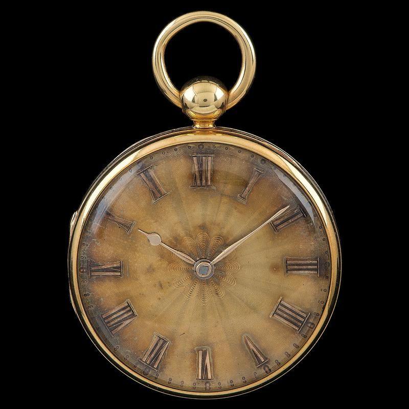 M.I. Tobias 18k Gold Pocketwatch