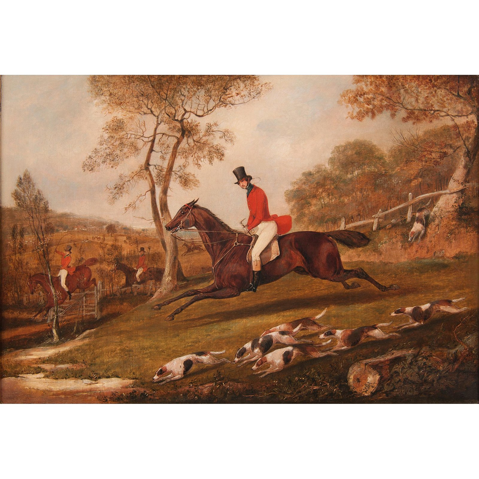 Attributed to Henry Thomas Alken (English, 1785-1851)