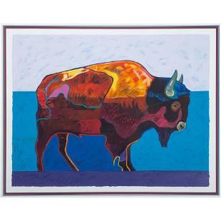 John Nieto (American, 1936-2018) Artist Proof Serigraph