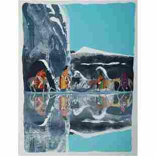 Earl Biss (Apsaalooke, 1947-1998) Artist Proof