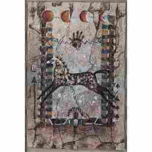 Cecilia Henle American 20th century Pastel on