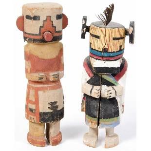 Pair of Hopi Katsinas