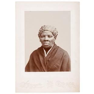 Harriet Tubman Cabinet Card by H.S. Squyer, Auburn, New