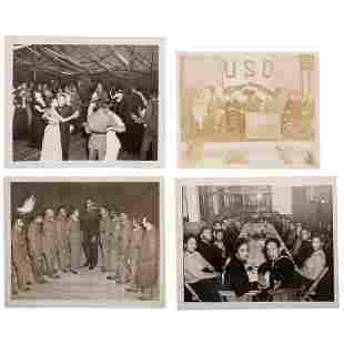 Dorie Miller Photographs and Pinback ca 19411942