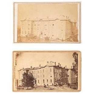 Oberlin College CDVs ca 1868 Lot of 2