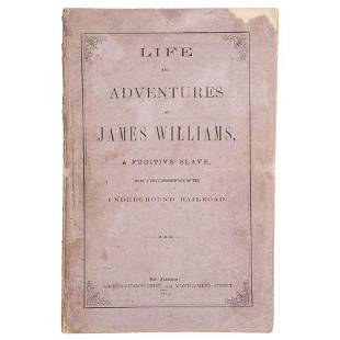 Only Known Slave Narrative Published Independently in