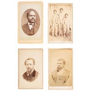 Santa Cruz CDVs of African Americans ca 18661875