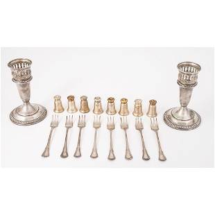 Gorham Sterling Shakers and Forks, Plus