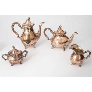German Sterling Tea and Coffee Service