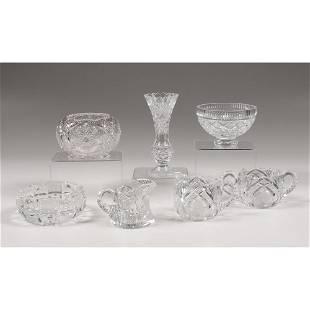 Cut Glass Table Vessels