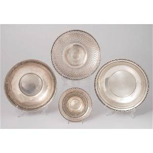 American Sterling Dishes