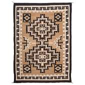 Navajo Two Grey Hills Weaving / Rugs