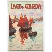 Ettore (Elio) Ximenes (Italian, 1855-1926) Lago di