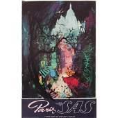 Otto Nielsen (Danish, 1916-2000) Paris and Africa SAS,