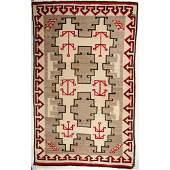 Navajo Ganado Roomsize Weaving  Rug