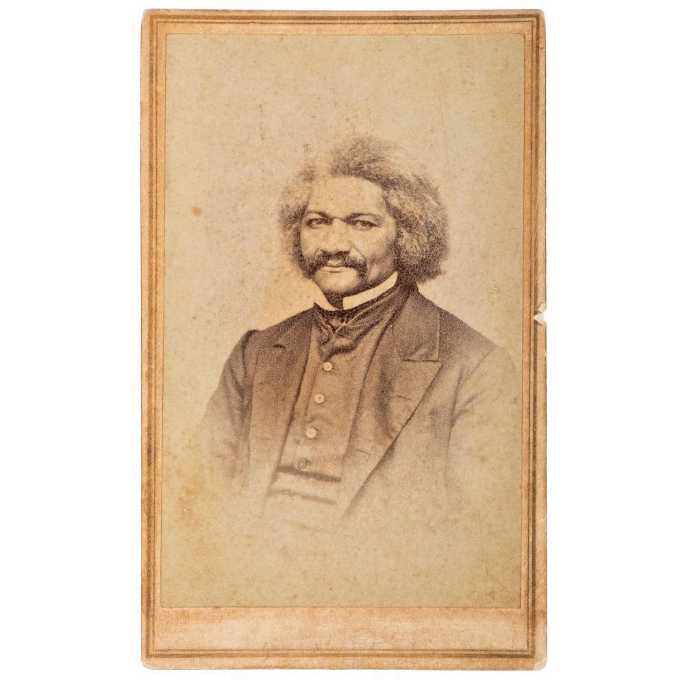 Frederick Douglass CDV by Bradley & Rulofson, San