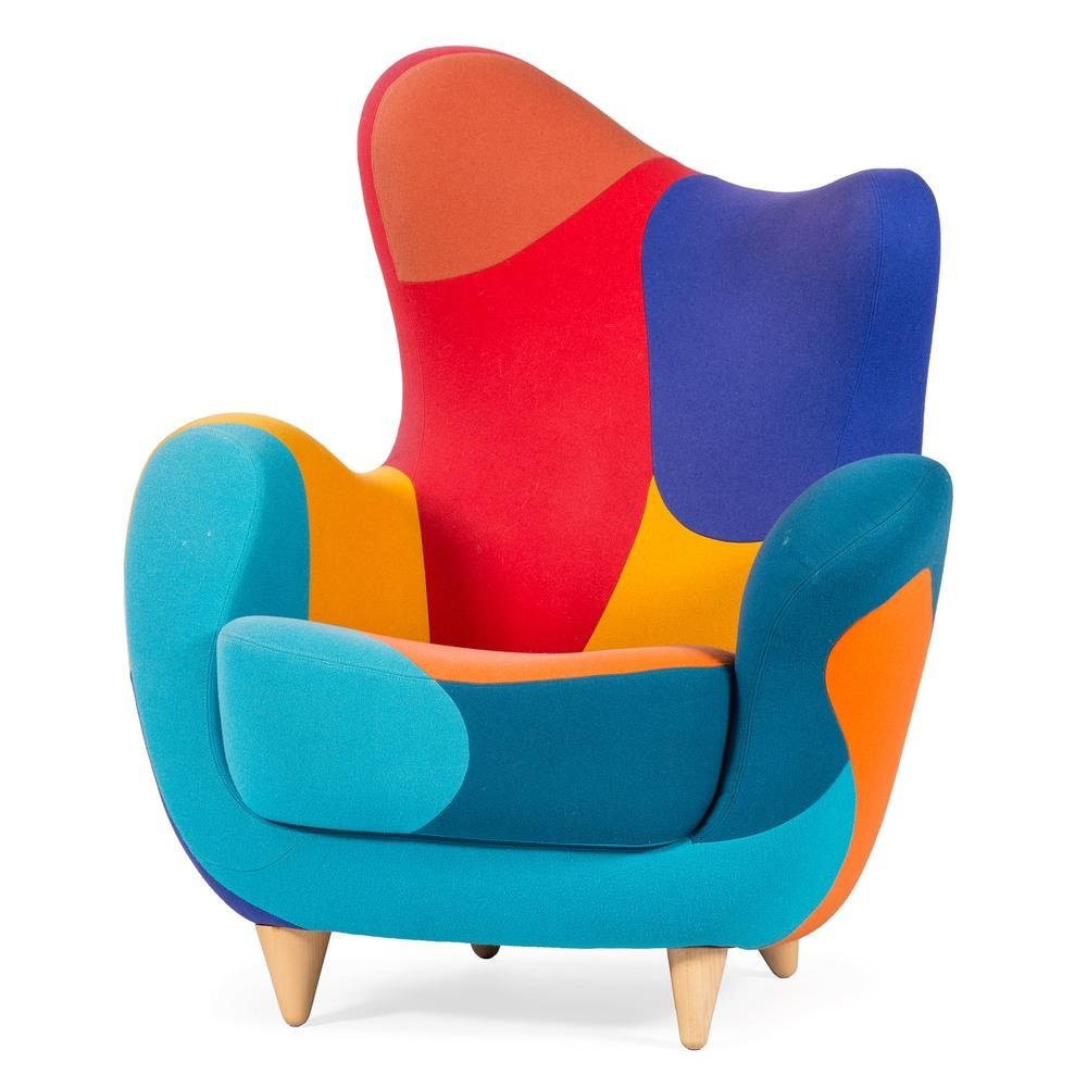 Javier Mariscal for Moroso Italy, Patchwork Alessandra