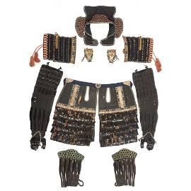 Extremely Fine Japanese Samurai Armor (O-yoroi)