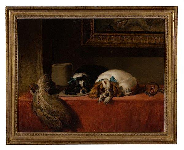 "5: ""The Cavalier's Pets"" after Sir Edwin Henry Landseer"