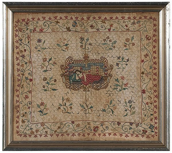 12: Italian Needlework Kerchief,