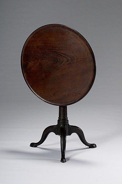 13: Queen Anne Tilt-Top Tea Table,