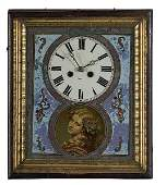 354: French Picture Frame Wall Clock,