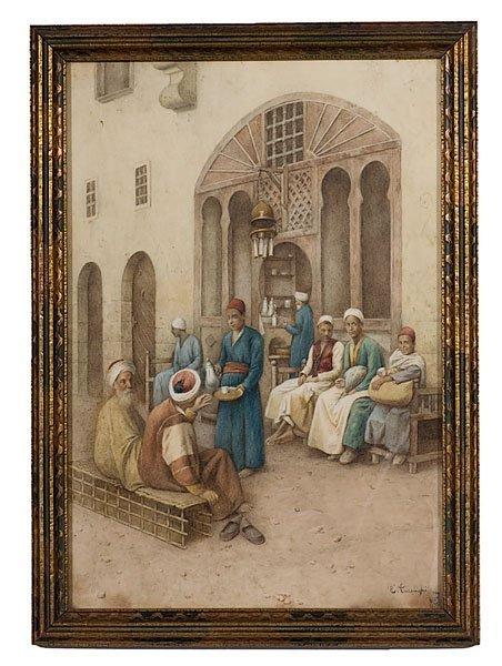 8: Enrico Tarenghi (Italian, 1848-1938),