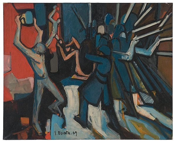 23: Georges Briata (French, b. 1933),