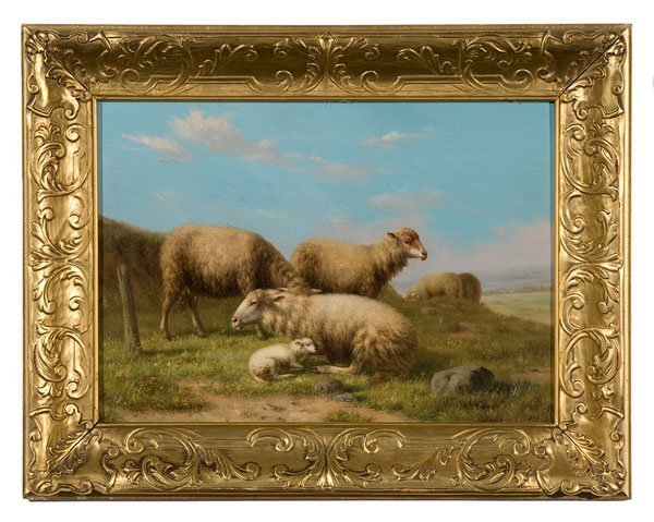38: Eugene Joseph Verboeckhoven (Belgian, 1798-1881),