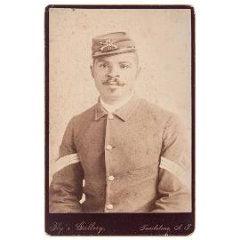 C.S. Fly Cabinet Card of 24th Infantryman, Tombstone,
