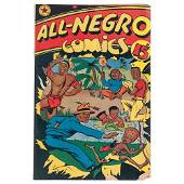 All-Negro Comics Issue #1, 1947 with Editorial by Orrin