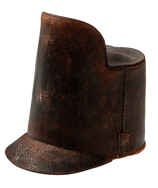 "6: U.S. Military Model 1813 ""Tombstone"" Pattern Helmet,"