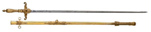 13: Mexican War Sword Presented to Col. William B. Robe