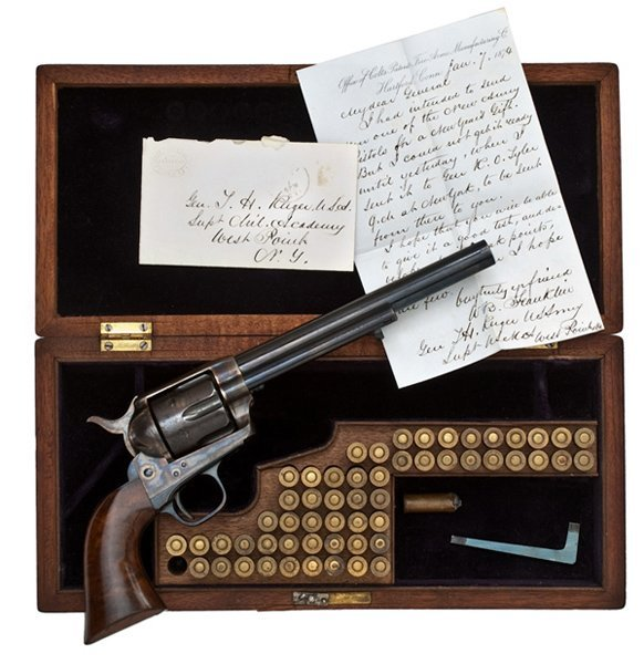 14: Colt Single-Action Army Revolver Presented to Gener